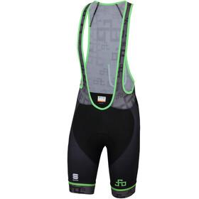 Sportful Sagan Logo Bodyfit Classic Bibshorts Men grey-green